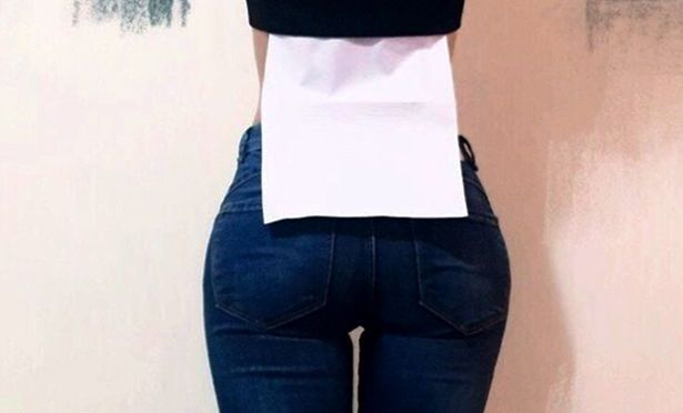 Worrying New Craze – Women are trying to make their waists smaller than a piece of paper