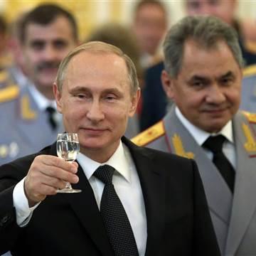 Putin 'Expert' -Vladimir Putin has secret army 'battle groups' to combact in Western Europe