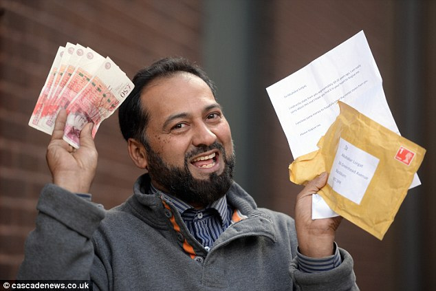 Heart Warming: Thief returns cash stolen £250 from taxi driver with touching apology letter TWELVE YEARS after the crime