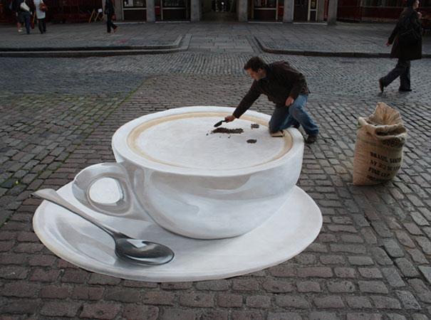 Mind numbing 3-D street drawiings – Best 3D Artists – Enjoy