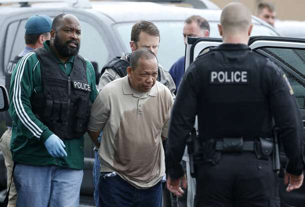 shooter in Maryland arrested, Federal Police officer with Homeland Eulalio Tordil, 62, arrested