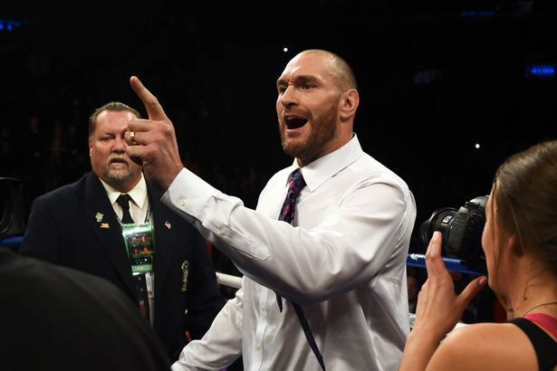 Tyson Fury, World Boxing heavyweight Champion on a foul-mouthed rant about Jews, rape and bestiality