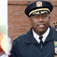 """loves sleeping with ...."" Jeffrey Maddrey, head of the NYPD's Patrol Borough Brooklyn North was the subject of a fiendish Facebook rant accusing the married cop of inappropriate relations with other cops."