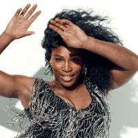 Serena Williams letting her hair down, twerking, gymnastics etc - go girl