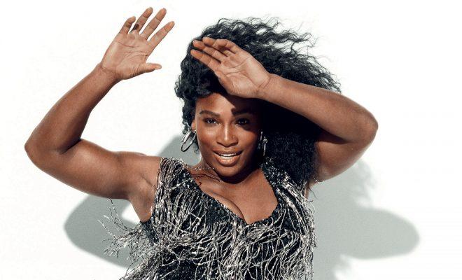 Serena Williams letting her hair down, twerking, gymnastics etc – go girl