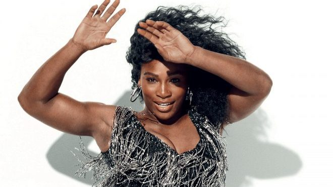Serena Williams letting her hair down, twerking, gymnastics etc – go girl