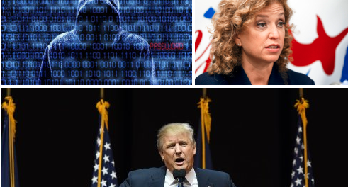 Democratic party computers hacked by  Russian groups seeking 'oppo' research on Trump: Kremlin denies involvment, admit hackers have deep ties in Moscow. Clinton and Trump campaigns also targeted