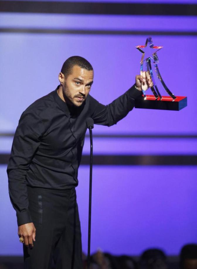 He took the Night: Jesse Williams of Grey Anatomy speaks on Black Lives Matter after receiving Humanitarian Award at 2016 BET Awards