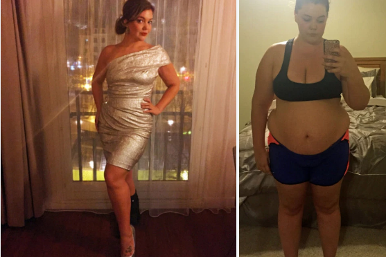 Justine McCabe (313lbs ) lost126lbs after her husband's tragic suicide… she shares her epic transformation through daily selfies