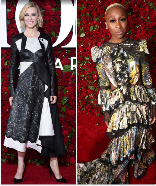 Tony awards red carpet fashion???