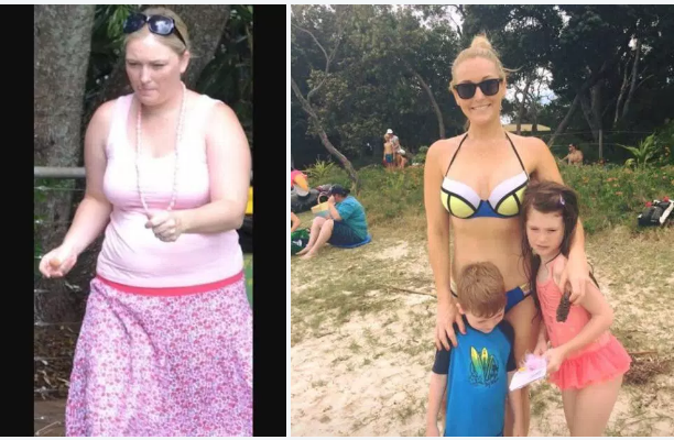 Dropped 132 lbs!!: Karlye Thurlow literally lost half her weight of 264 lbs