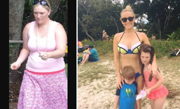 Dropped 132 lbs!!: Karlye Thurlowliterallylost half her weight of 264 lbs