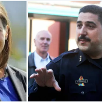 Any Policein Oakland free of sin? 3rdacting police chief steps down in a week amid racist texts, teenage prostitute Celeste Guap sex scandal. Mayor exasperated'frat house'