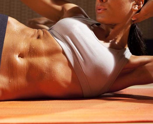 Five Quick Ways to Get Toned Abs and Flatten Your Belly – How to video attached