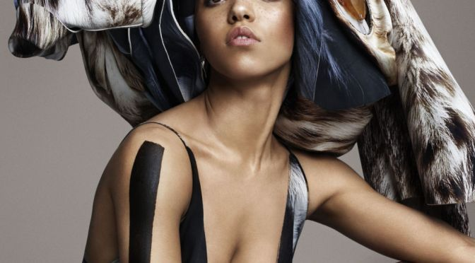 The Enigma: FKA TWIGS ADDRESSES FAME IN ELLE USA