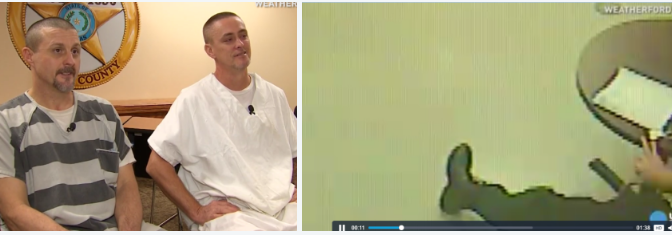 Prison Guard saved by inmates, Nick Kelton and co: Texas inmates break out of cell to help guard having heart attack