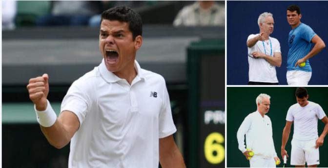 Learning to Roar: The John McEnroe effect on Milos Raonic's Wimbledon run – brilliant
