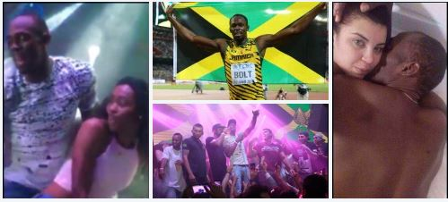 """""""dying of shame.""""? Brazilian student, 20, who shared photos appearing to show her in bed with, Usain Bolt, at his 30th b-dayparty in Rio is really the widow of a dangerous drug lord known as DináTerror – birthday fun"""