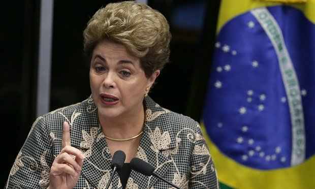 Dilma Rousseff, Suspended Brazilian president,  faces 'Coup Plotters' – as Senate weighs impeachment, her supporters riot in the streets