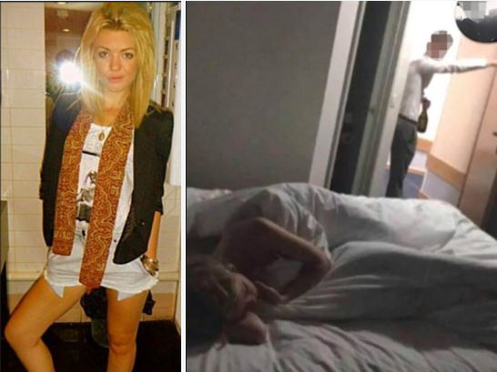 My 'drink' was spiked:  Isabelle Graham, 'devout Christian' teacher caught with 17-year-old student lover – Hotel photo emerges