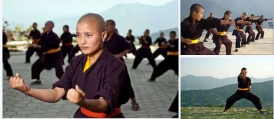 Kung Fu Fighting Nuns: Buddhist nuns in Nepal showcase top notch martial arts moves