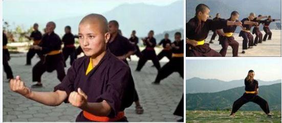 Kung Fu Fighting Nuns: Buddhist nuns in Nepal showcase top notch martial artsmoves