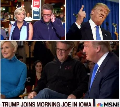 At War!: Kellyanne Conway, Donald Trump's new minder, seems to 'Bailing out water with a teaspoon' while he is at war with the Morning Joe co-hosts, Joe and Mika – no more 'personal insults' you said?