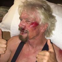 Sir Richard Branson, Virgin Atlantic owner, cheats death – 'thought he would die' in bike crash