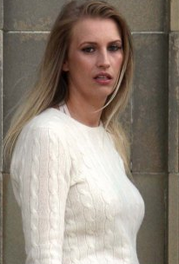 Evicted for aquickie outside door step: Claire Blacklaw,evicted from apartment after horrified neighbor heard her having a drunken romp outside her front door after boozy nightout, charged to court ….