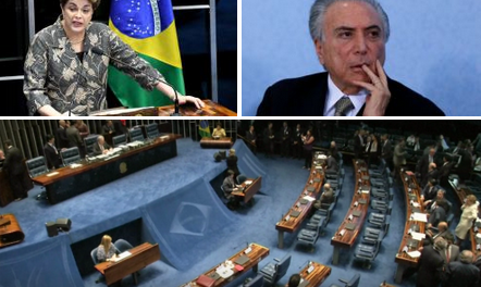 61 to 20:  Dilma Rousseff, ousted as Senate cast Impeachment Vote – Brazil's first female president out!!
