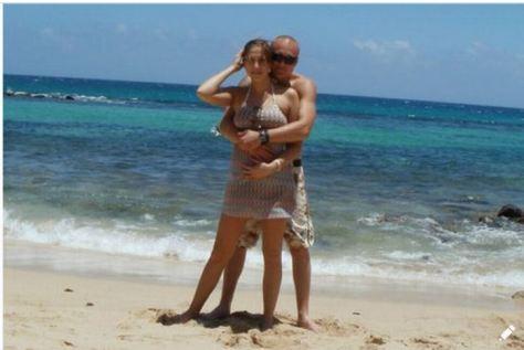 Sroka and Trojniak on vacation.JPG