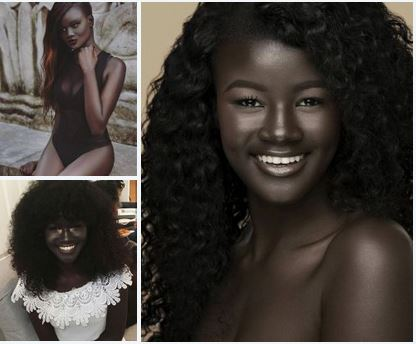 Khoudia Diop,19, dark, mysterious, beautiful and a successful fashion cum role model – a lesson in standing up to bullies