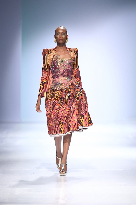 Vlisco @ Heineken Lagos Fashion and Design Week