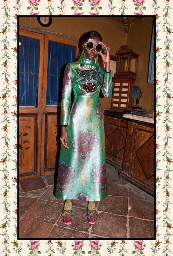 Risk takers! Bold and Beautiful: GUCCI'S 2017 PRE- FALL COLLECTION