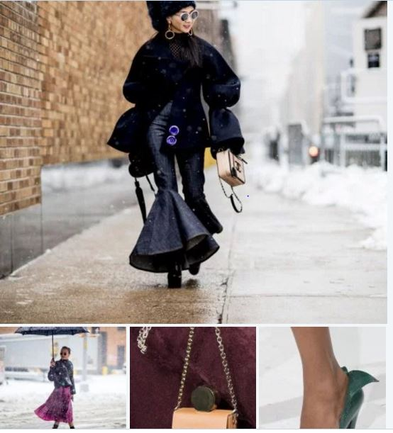 Brrrr -Bold, brave and beautiful: Fashion Saturday ft NY Fashion Week