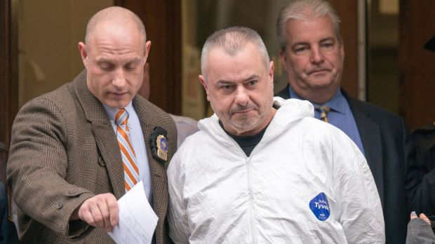 Killed neighbor for rent controlled digs:  Ex-Cop, Gene Barrett, accused of killing neighbor believed victim was part of a conspiracy to evict him from his rent-controlled NY apartment