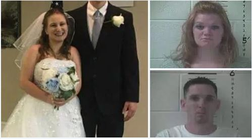 'In front of God and everybody'!! New bride, a man and another woman,  arrested having a threesome on top deck of creole restaurant on the Mississippi river