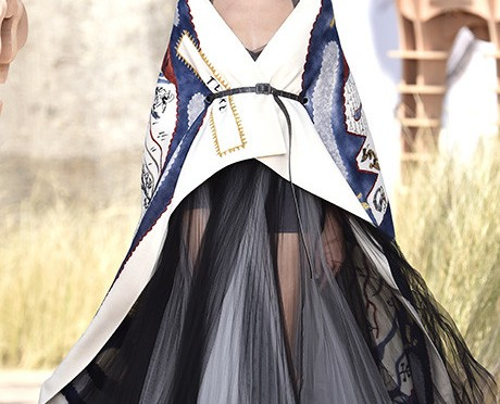 The Dior Haute Couture autumn-winter collection