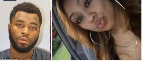 Depraved indifference!!  Albertus Lewis, charged with 'shooting his girlfriend, Mayra Sanchez, 20, then dumped her body outside a hospital in a wheelchair' in South Carolina