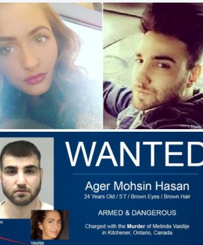 Stupid and dumb: Ager Hasan, of Canada, accused of killing girlfriend, outs himself on Reddit arrested in Texas after months on the run