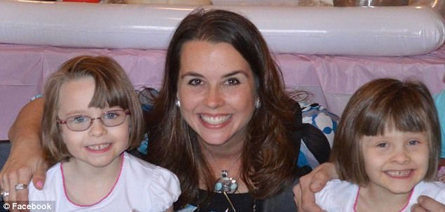 Celia Henning, 41, shoots her six-year-old twin daughters before killing herself