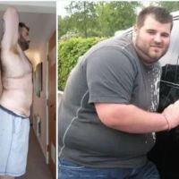 Thanks your unfaithfulness! Mike Vaughan, 26, Cheating girlfriend spurred me to lose 162 pounds in just 18 months