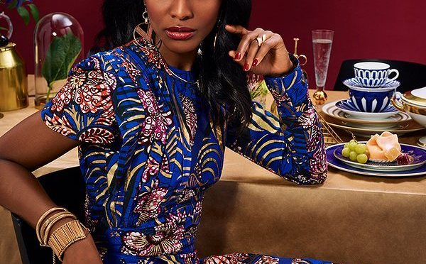 Decadence in details ft Vlisco – all I want for Christmas is 'you'!!!