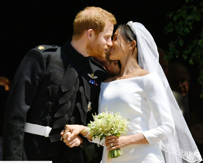 #RoyalWedding: Signed, Sealed, Delivered, Meghan Markle and Prince Harry, married. Congrats. God bless you Duke and Duchess of Sussex!!