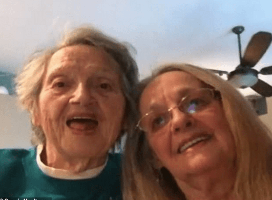 Wonderful  Christmas gift! Daughter, 69, is reunited with her 88-year-old mother who was told her child died at birth